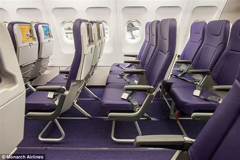 Airline Seats Recline by Image Gallery Monarch Aeroplane