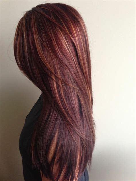 light mahogany brown hair color with what hairstyle coole interessante frisuren f 252 r lange haare archzine net