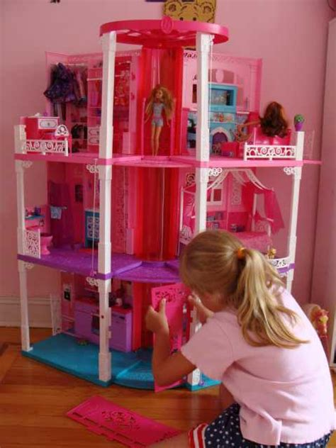 barbie dream house videos the all new renovated 3 story barbie dream house 2013 is out video