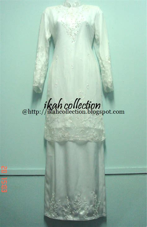 Baju Nikah Jubah Moden baju nikah kurung moden cenderahati pakej perkahwinan tempahan baju kurung nikah