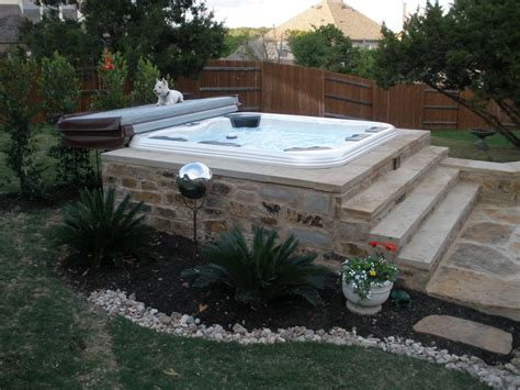 hot tub backyard design ideas 25 best ideas about hot tubs on pinterest hot tub patio hot tub deck and jacuzzi