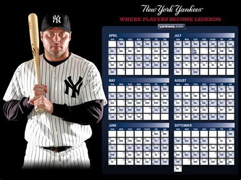 Calendario De Los Yankees Los Yankees De Nueva York Noticias Yankees Wallpapers