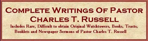 complete writings of pastor charles t