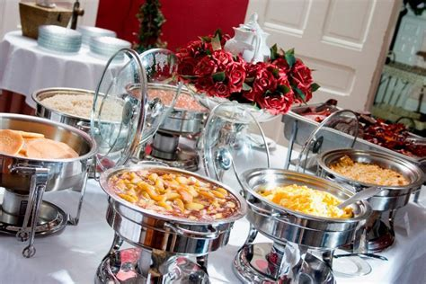 Corporate Events Buffet Table Settings   Royal Events