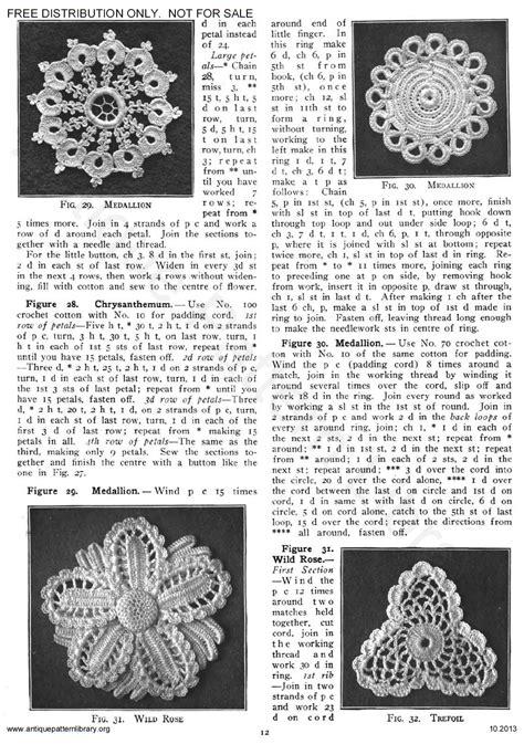 antique pattern library priscilla apl 6 ja025 priscilla irish crochet book no 2 page 14