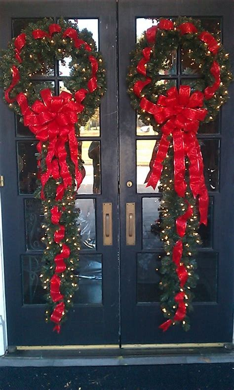 wreath ideas for front door fabulous christmas wreath decoration ideas for front door