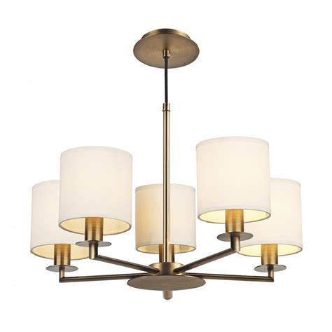 bronze ceiling light in mid century design with