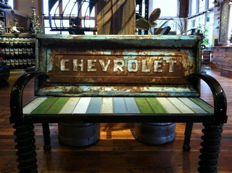 chevy home decor diy furniture from old car parts for your home one decor