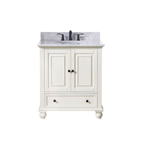 30 Bathroom Vanity Combo by Thompson White 31 Inch Vanity Combo Avanity