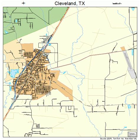 map of cleveland texas cleveland tx pictures posters news and on your pursuit hobbies interests and worries