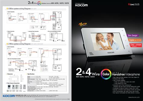 kocom 2 wire intercom wiring diagram efcaviation