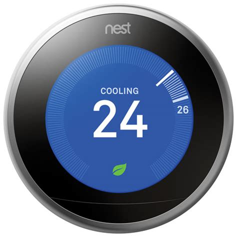 Nest Wi Fi Smart Thermostat 3rd Generation : Smart Thermostats   Best Buy Canada