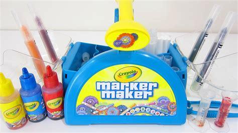color maker crayola marker maker play kit make custom colored markers