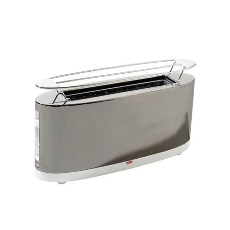 tostapane acciaio alessi tostapane sg68 acciaio bianco design shop