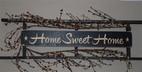 Home Sweet Home Decor Primitive Wall Decorations