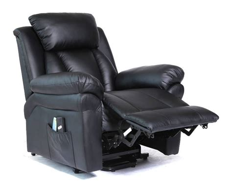 power recliner with remote new black power lift recliner w remote lcr120 brand new