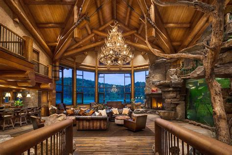 amazing of best luxury rustic house interior decor in rus luxury log homes preferred home design