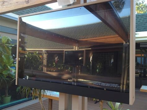 Patio Tv Custom Built Outdoor Tv Enclosures Style Outdoor