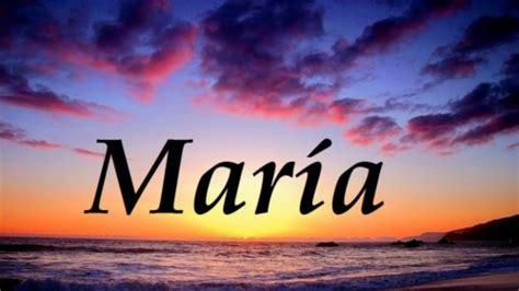 imagenes del nombre maria  animacion