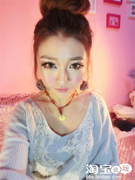 tutorial make up ala korea style trend fashion korea terbaru tutorial make up mata boneka