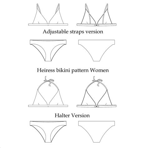 how to make a stencil template heiress sewing pattern swim style