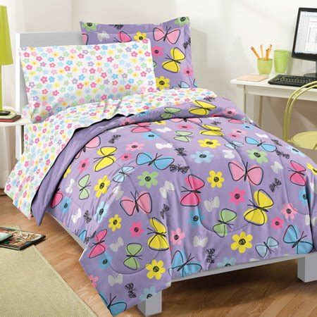 Set Sweet Butterfly by Factory Sweet Butterfly Bed In A Bag Purple