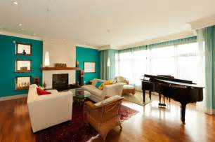 living room colors wall color: contemporary living room with chic turquoise accent wall colors