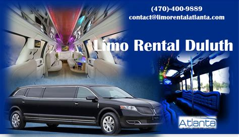 Limo Service Around Me by Limo Rental Atlanta Are Ideal For Business Trips