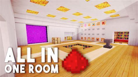 all in one room redstone house w 12 redstone creations