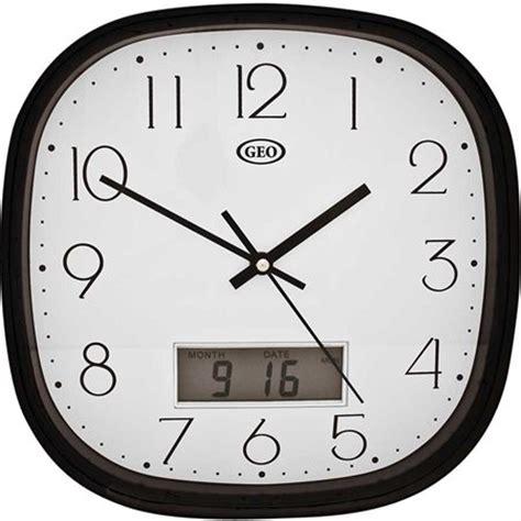 Analog Digital Wall Clock