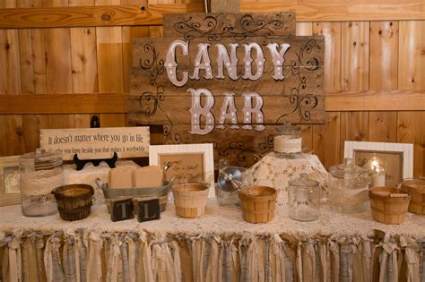 inspiration for a rustic vintage style wedding rustic vintage inspired rustic candy bar my rustic country