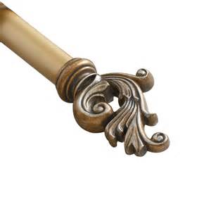 Curtain Rod Size Prometheus Decorative Curtain Single Rod Wayfair