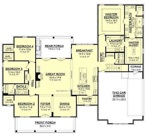 Farmhouse Floorplans by Best 25 Farmhouse Floor Plans Ideas On Pinterest