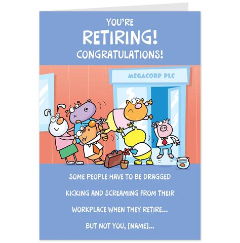 retirement greeting card template retirement card quotes quotesgram