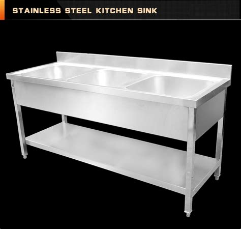 restaurant used commercial stainless steel kitchen sink