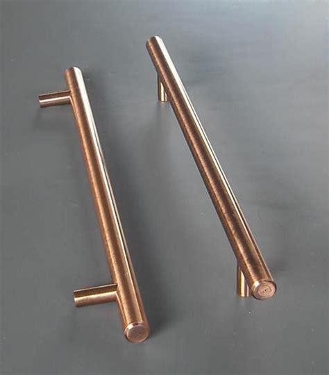 long kitchen cabinet handles 8in hans kristof modern long copper finish kitchen cabinet