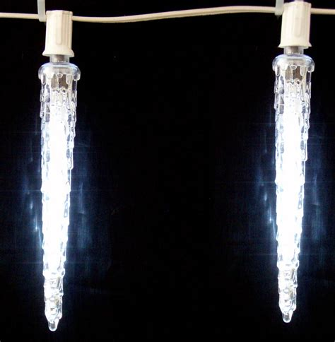led icicle lights on winlights com deluxe interior