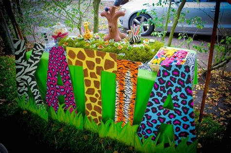 1st birthday jungle theme decorations the crafty reporter baby katia s