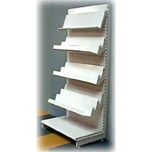 retail bookshelves retail wall unit 1250mm 4 magazine shelves shopfitting