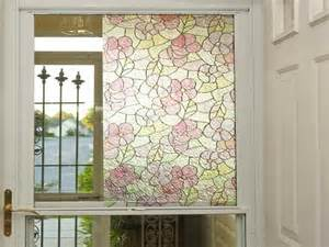 home depot window clings doors windows static cling stained glass window
