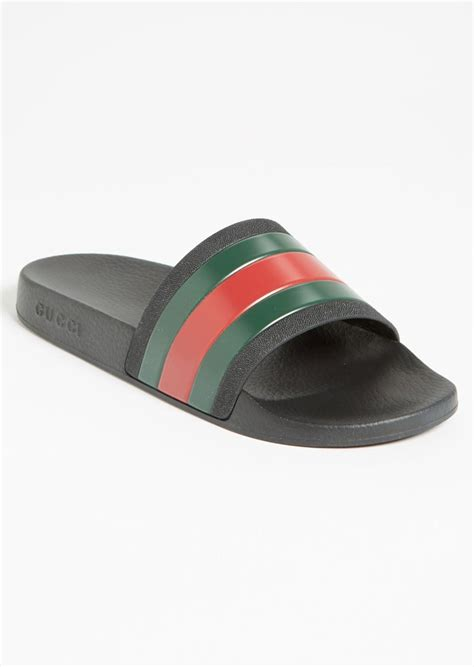 gucci pursuit 72 slide sandals gucci gucci pursuit 72 slide sandal shoes shop it to me