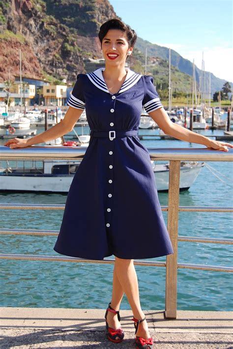 Dress Sailor 1940s sailor dress by miss bamboo