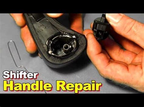 2003 Honda Accord Shift Knob by 2003 2006 Honda Accord Broken Shifter Button Replacement