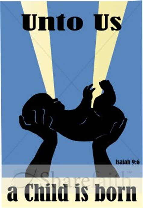 baby jesus lifted  nativity word art