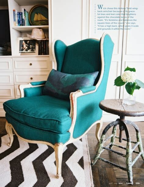 Teal Sitting Chair Teal Accent Chair Home Decor