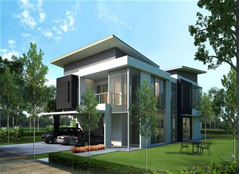 singapore bungalow house design new bungalow house for sale at cypress residences double storey bungalows selangor