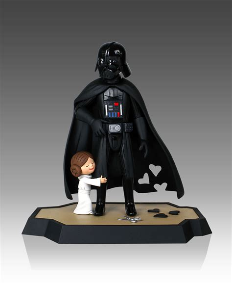 libro star wars darth vader darth vader and son vader s little princess figurines the children strike back technabob