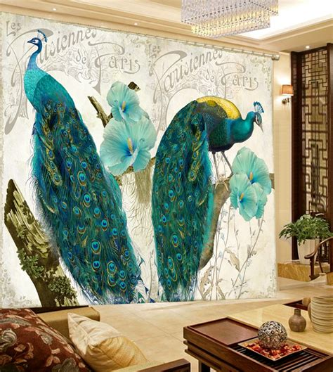 peacock kitchen curtains online get cheap peacock window curtains aliexpress com