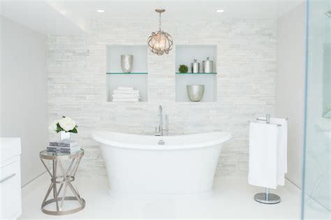 light over bathtub tiled accent wall design ideas