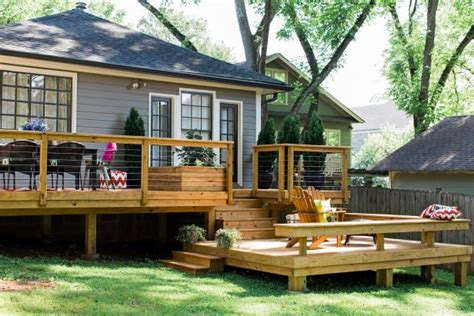 veranda holz how to build a deck diy